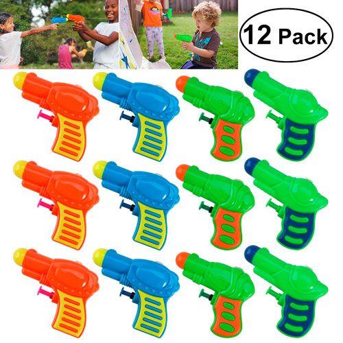 Paquete de Pistolas de Agua Plasticas para Niños