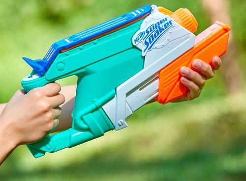 Pistola Splash Mouth, de Super Soaker