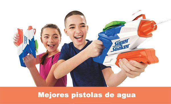 mejores pistolas de agua