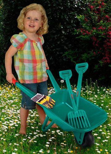 set jardineria infantil