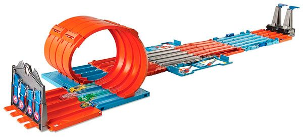 Pista de Carreras para Coches, de Hot Wheels