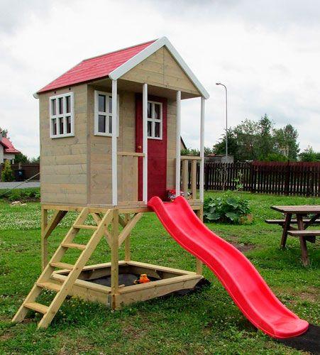 casita infantil madera nórdica