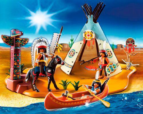 Super Set Campamento Indio, de Playmobil