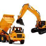 Excavadora y Camión volquete, de Top Race