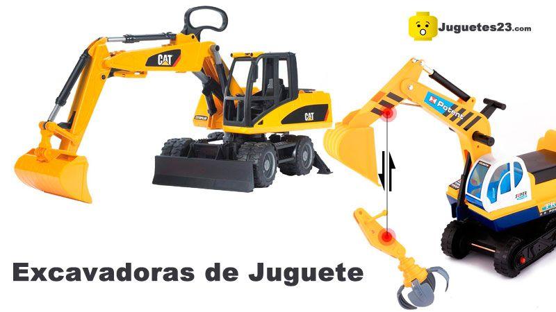 mejores excavadoras de juguete para niños