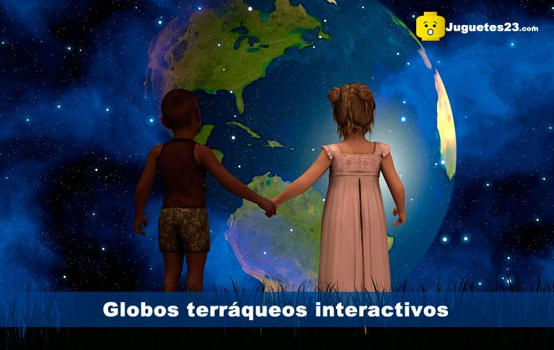 mejores globos terráqueos interactivos para niños