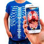 Camiseta Educativa de Realidad Aumentada, de Curiscope