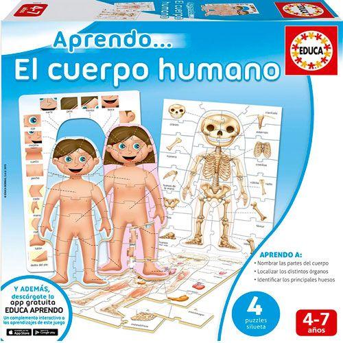 Puzzle Educativo El Cuerpo Humano