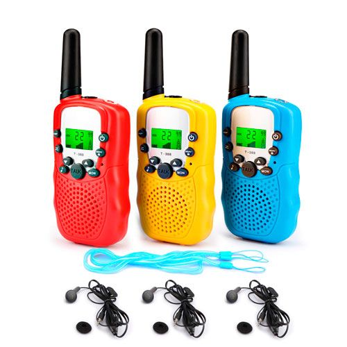 Walkie Talkies 3 Pack, de Fansteck