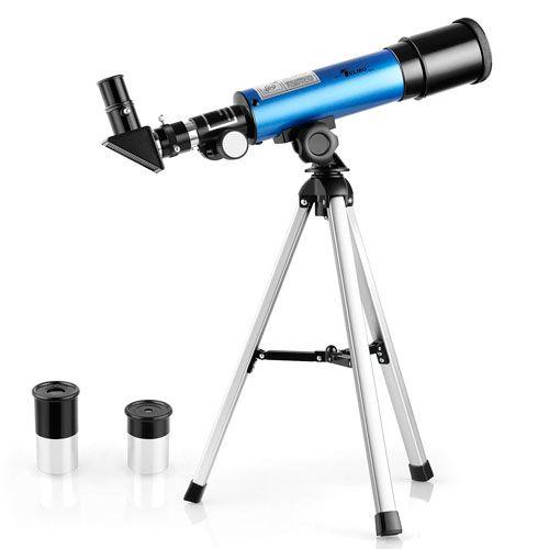 Telescopio Astronómico 50 mm para Niños, de Telmu