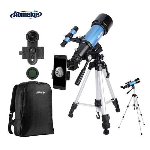 Telescopio Astronómico con Adaptador de Teléfono